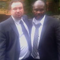 "May 30, 2012, ""Stop Wrongful Convictions, Now!"" in Albany. A day after my conviction was re-instated."