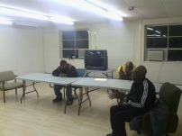 2012, speaking to troubled youth in White Plains, NY at the Community Center